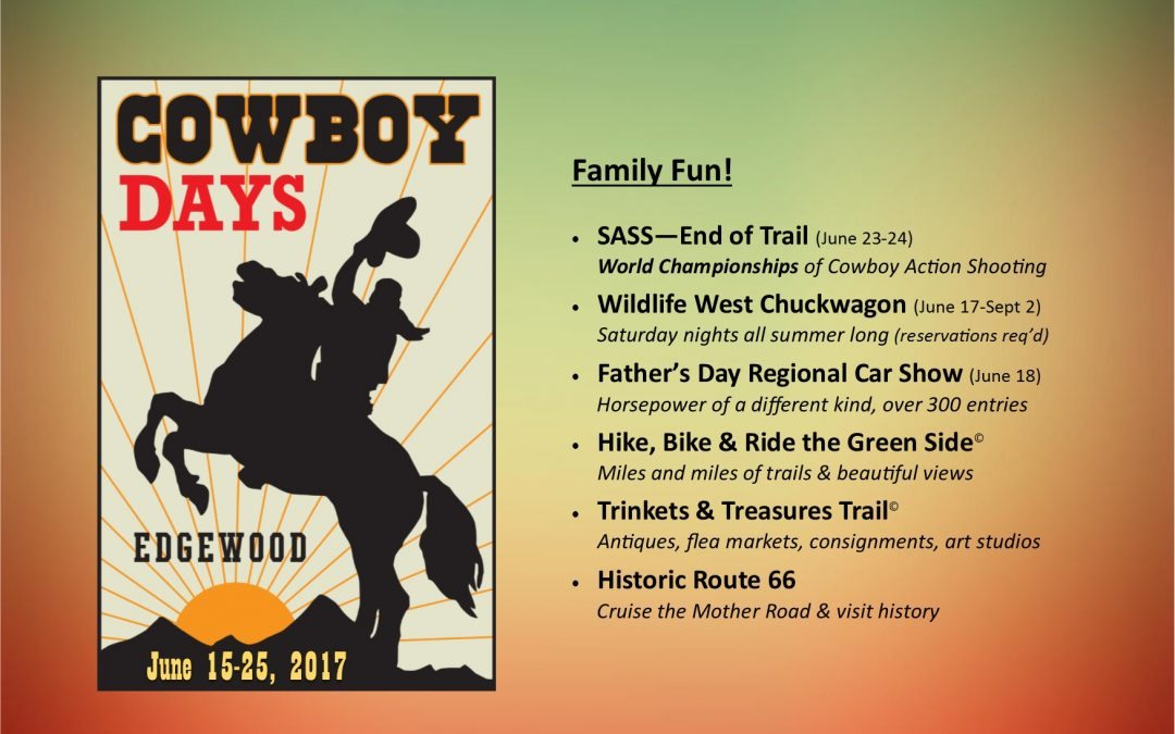 Get Involved — RSVP for Chamber Chuckwagon AND Cowboy Days