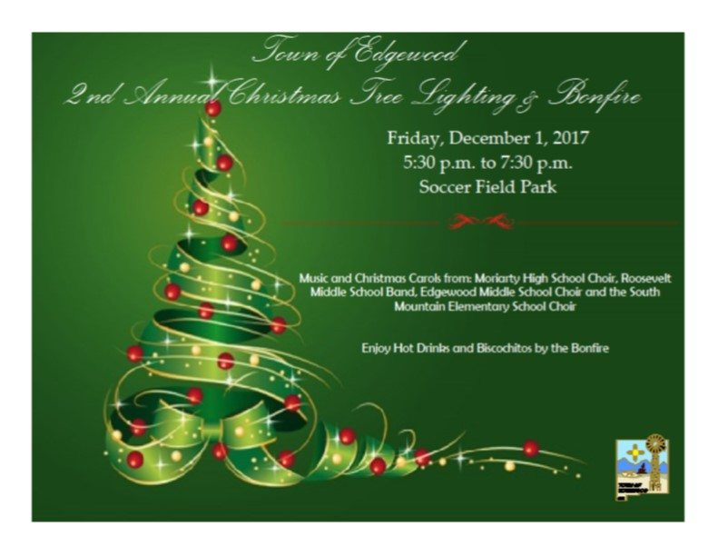 Community Tree Lighting & Bonfire 2017