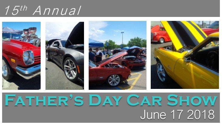 15th Annual Father's Day Car Show – June 17