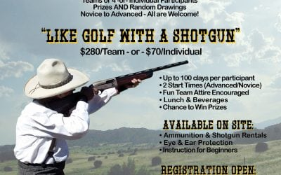 3rd Annual Bustin' Clays – Sporting Clays Tournament – Sept 29