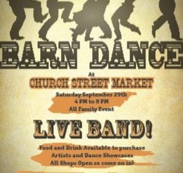 Barn Dance — Sept 29 — Edgewood