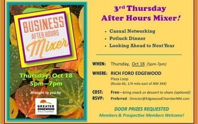 After Hours Mixer — Thursday, Oct 18 — Rich Ford Edgewood