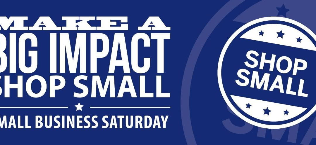 Small Business Saturday — November 24
