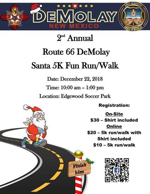 2nd Annual Santa Fun Run