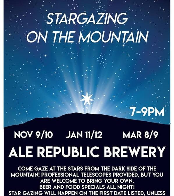 Stargazing at Ale Republic