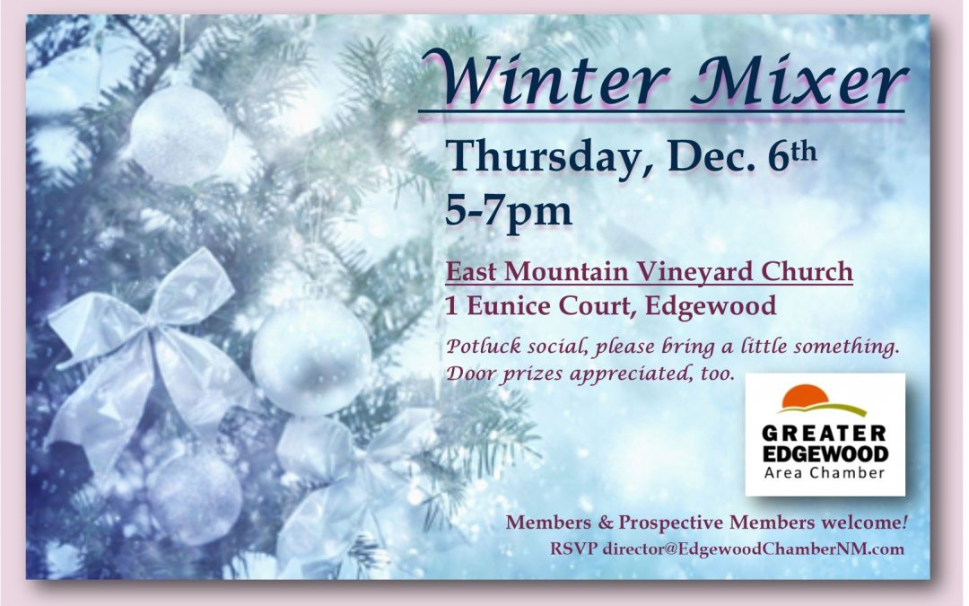 Winter Mixer – Thursday, Dec. 6