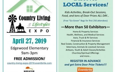 Country Living & Lifestyles EXPO — April 27