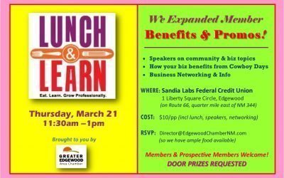 March 21 Lunch Meeting — Discover Upcoming Events