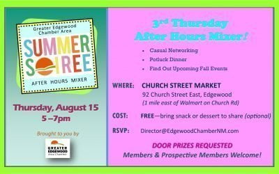 Summer Soiree Mixer — Aug 15 — Church Street Market