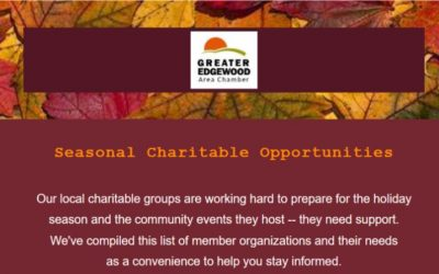 Seasonal Charitable Opportunities