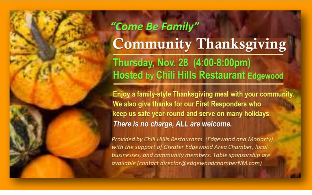 Community Thanksgiving 2019