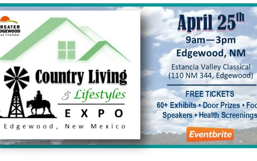 Country  Living & Lifestyles EXPO – April 25