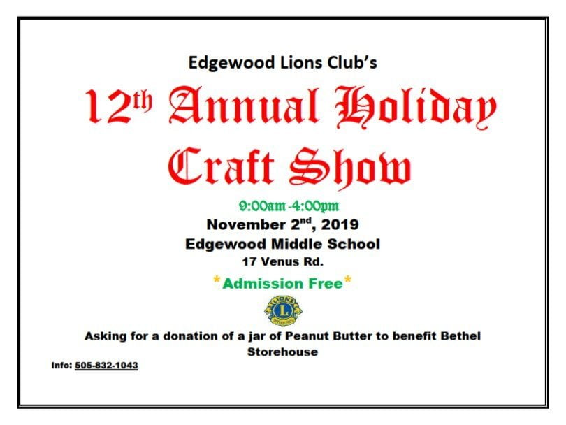 Lions Club Holiday Craft Fair 2019