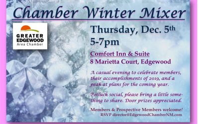 Chamber's Winter Mixer – Thursday, Dec 5
