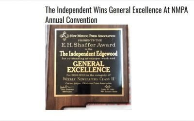 Congratulations to The Independent!