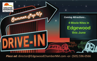 Pop-Up Drive-In Coming to Edgewood – June 13, 20, 27 and July 11