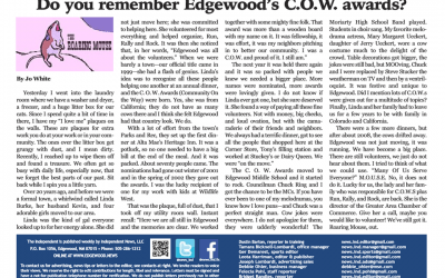 Edgewood's COW Awards