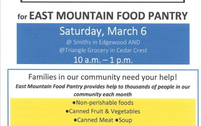 Local Food Drives – March 6